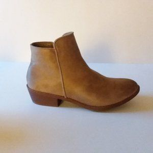 Tan Ankle Booties 7.5 ☄LIKE NEW!☄